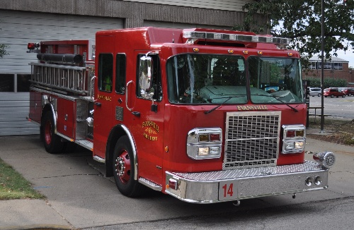 Fire Station 14 Truck