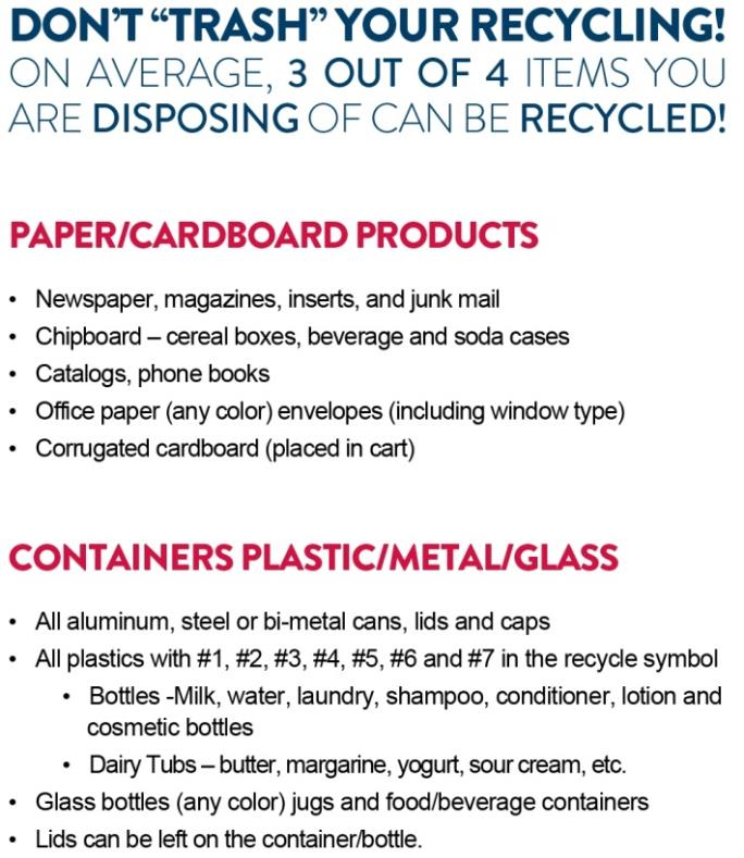 Recycling City Of Evansville