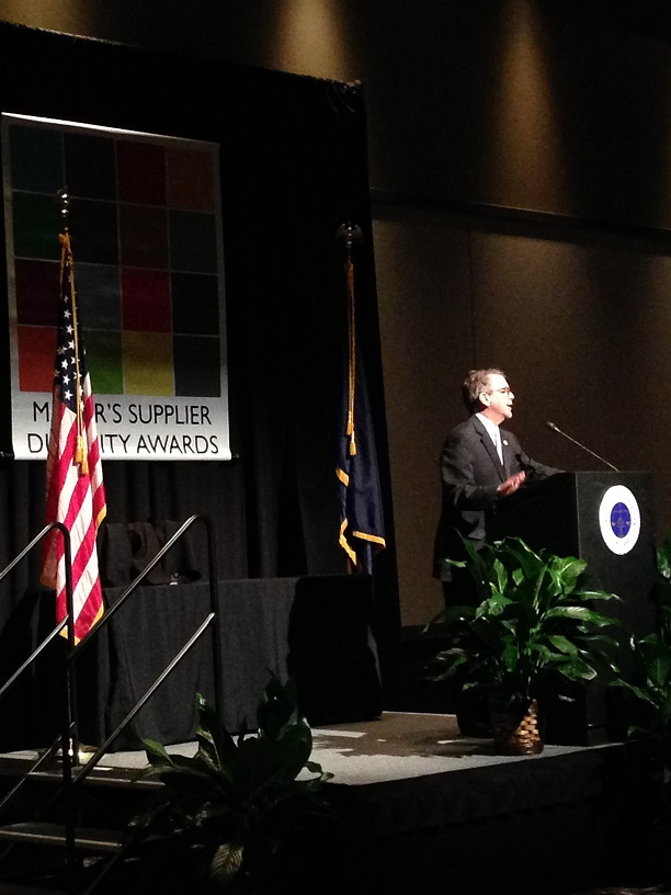 Mayor Winnecke 2017 Supplier Diversity Awards