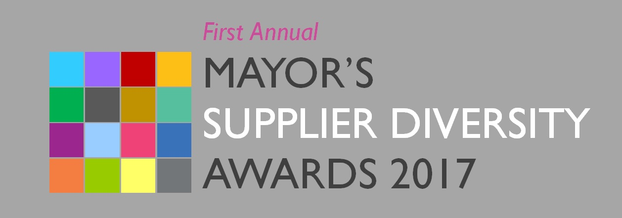 2017 Mayor's Supplier Diversity Awards Header