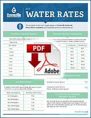 2017 Water Rates