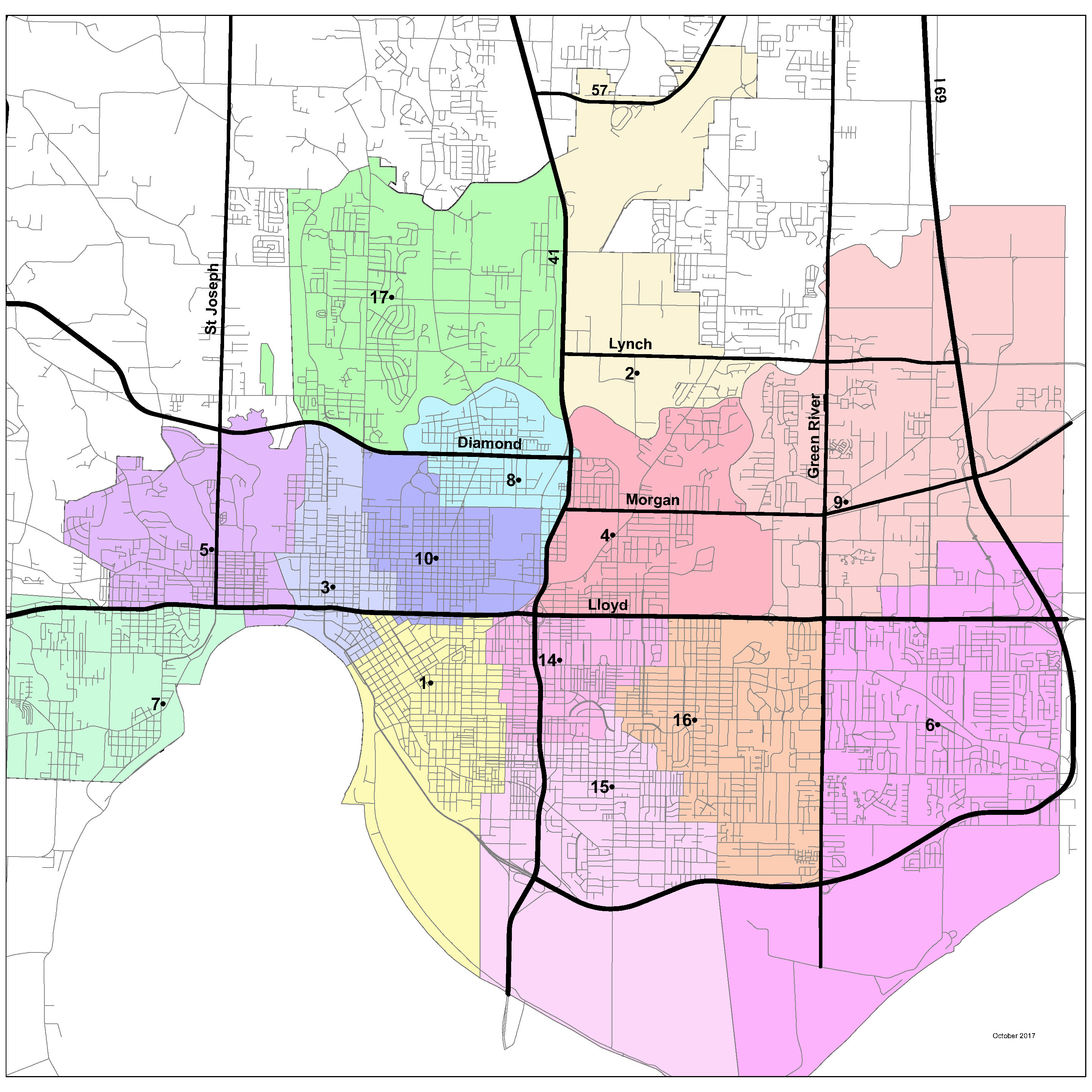Fire Station Map City Of Evansville