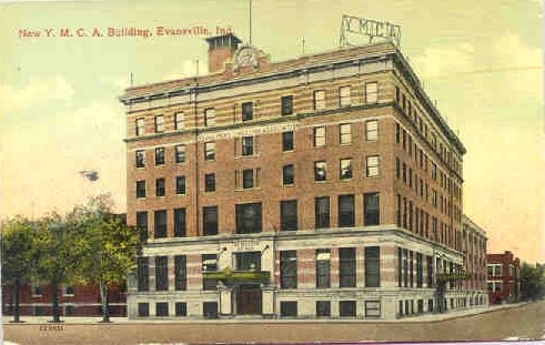 1913 Postcard of the YMCA building